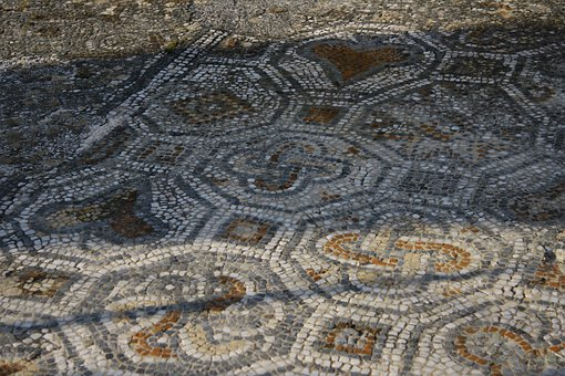 Mosaic, Ruins, Ephesus, Ancient, Roman