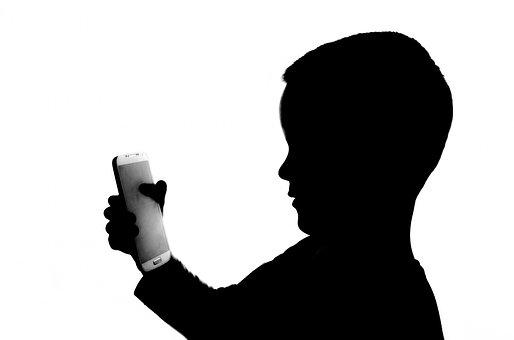 People, White, Phone, Holding, Kid