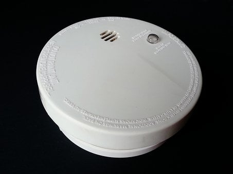 Smoke Detector Fire Alarm Burning Safety P