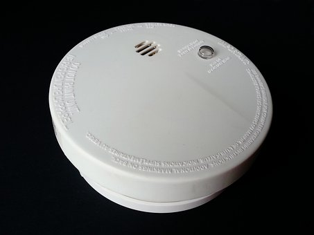 Asap, Detektor, Api, Alarm, Pembakaran