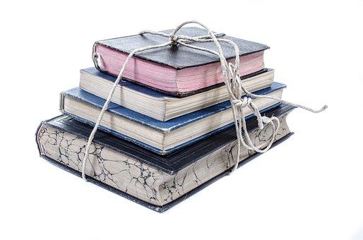 书, 老, 桩, 堆栈, 书架, 集合, 白, 开放, 经典, 集团, 文本