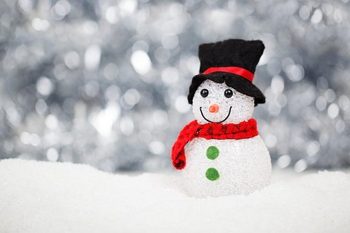 Christmas, Snow, Snowman, Decoration