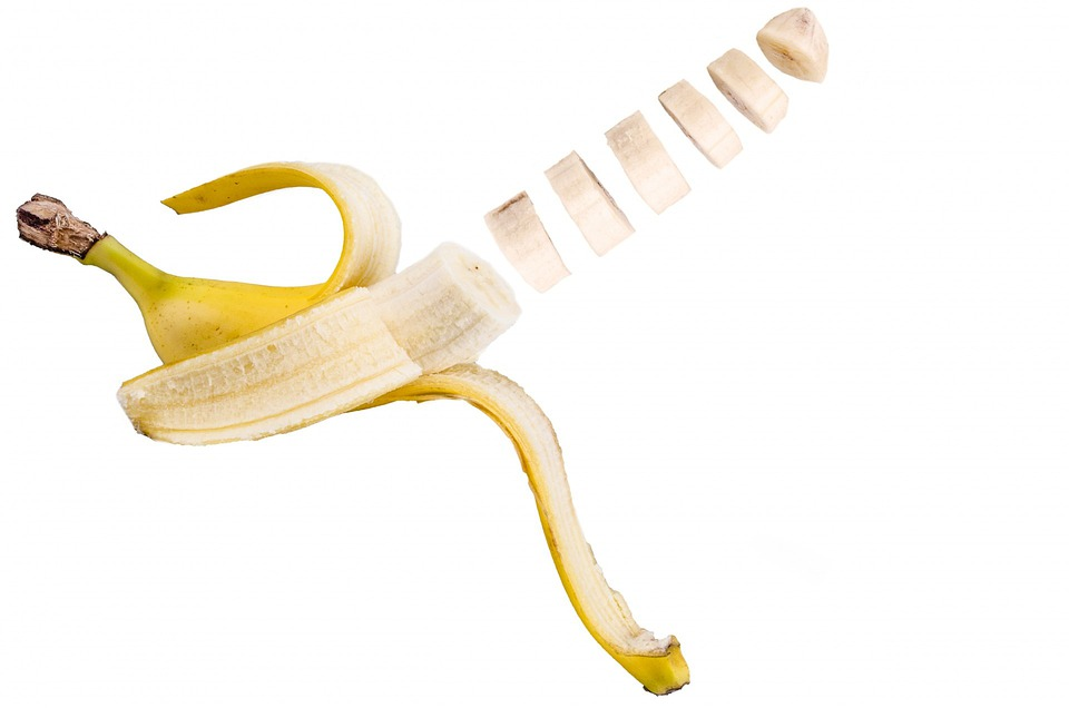 Banana Slice White 183 Free Photo On Pixabay