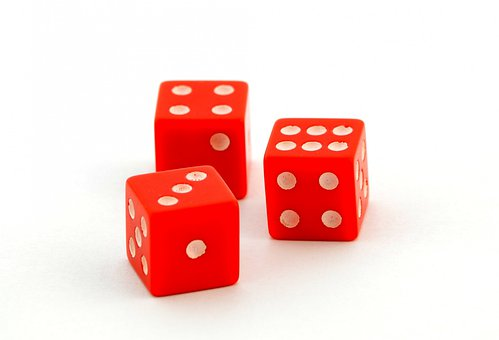 Dices, Points, Gambling, Cubes, Luck