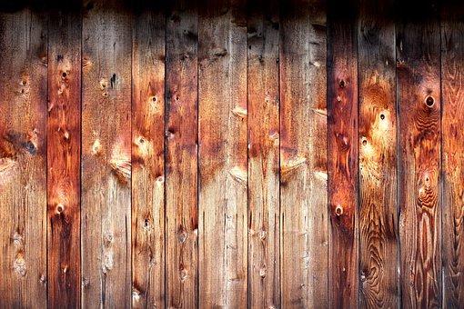 Knotty Pine Barn Wood Background Brown Boa