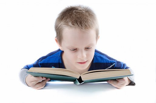 Read, Book, Boy, Child, Kid, Student