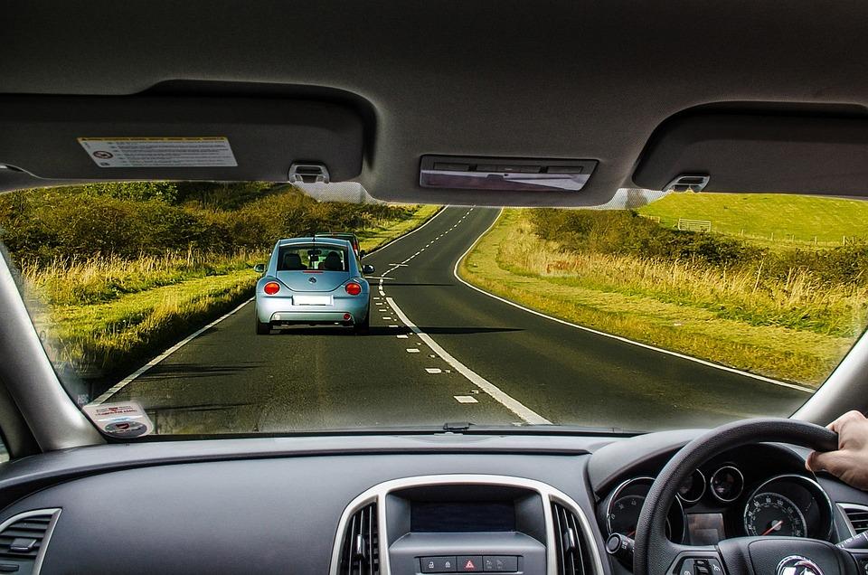 Car, Driving, Road, Dashboard, Wheel, Trip, Interior