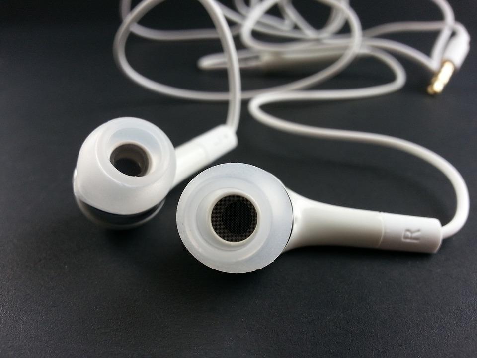 イヤホン, 音楽, リスナー, 耳, 聞く, 耳を傾ける