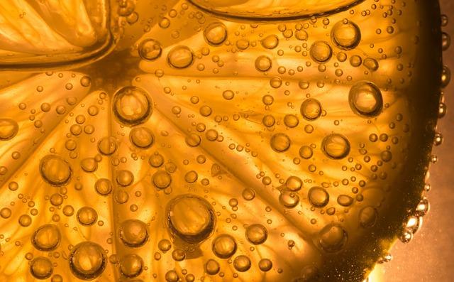 free photo  lime  water  bubbles  macro  light