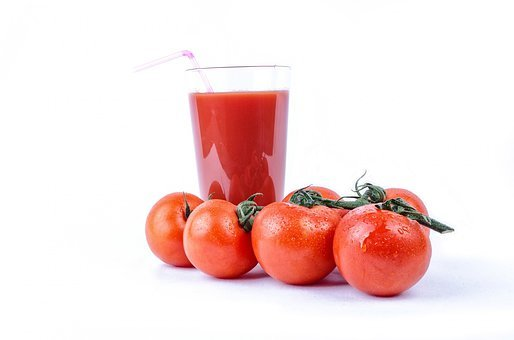 Tomato, Isolated, Vegetarian, Meal, Ripe