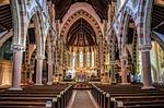 church, interior, pew