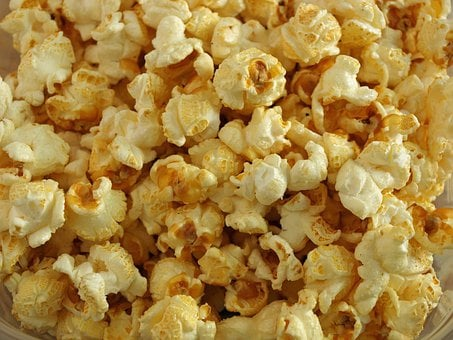 Popcorn Fast Food Cinema Snack Crunch