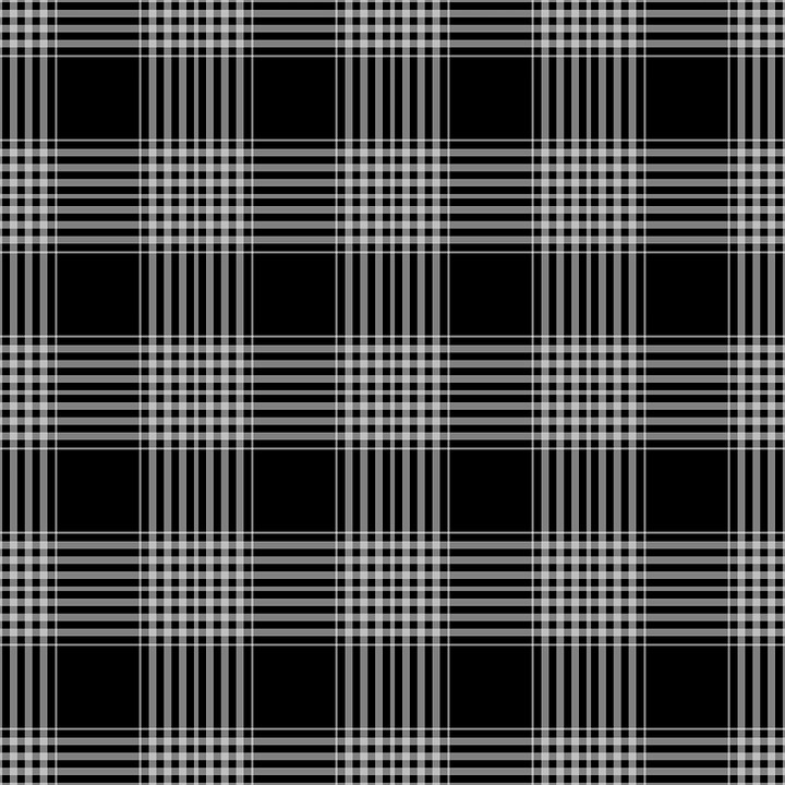 Free Illustration Checks Plaid Tartan Black Free