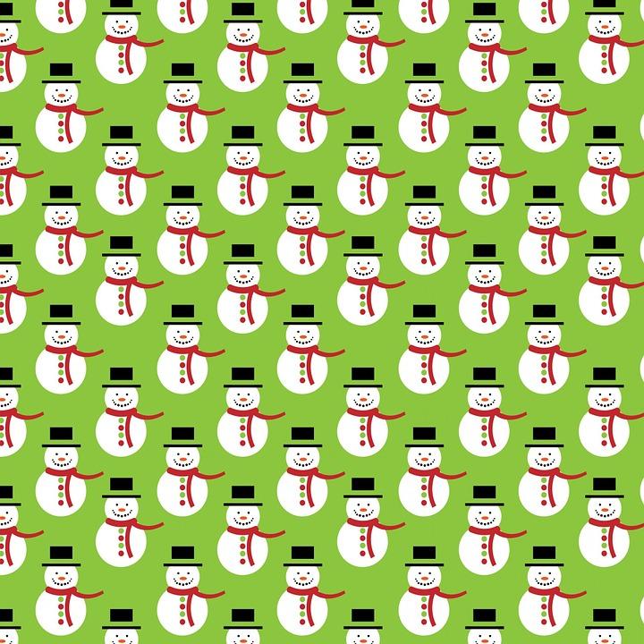 Weihnachten Schneemann Grün · Kostenloses Bild auf Pixabay