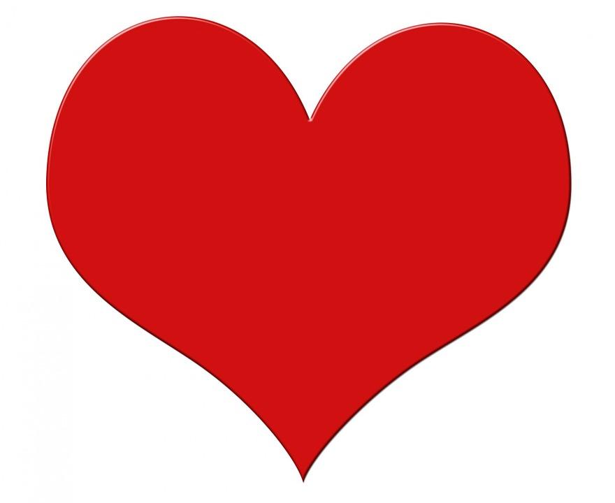 Coeur Red Grande - Image gratuite sur Pixabay