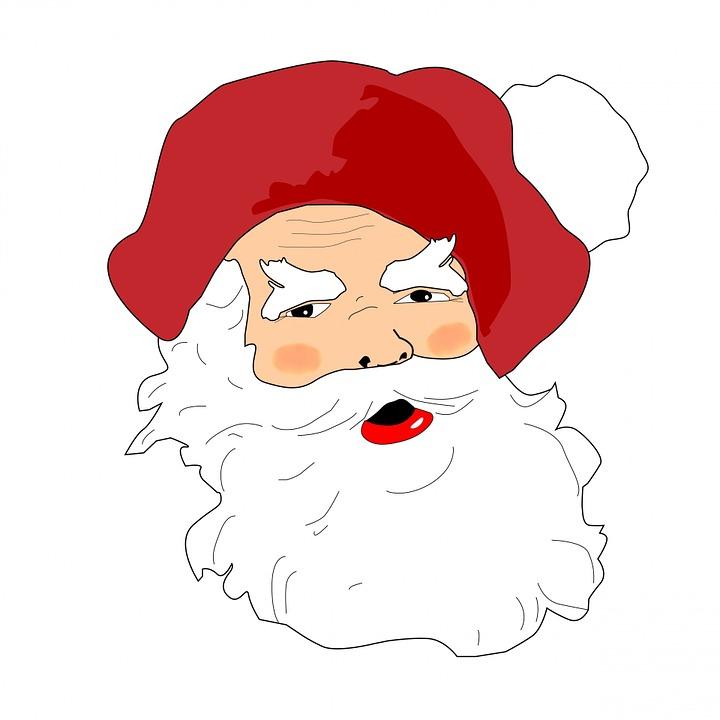 Immagini Viso Babbo Natale.Santa Babbo Natale Immagini Gratis Su Pixabay