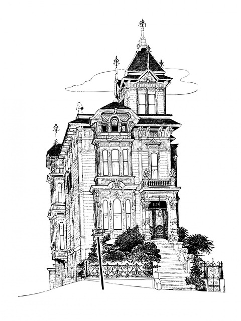 Free Illustration House Home Gothic Tall Building
