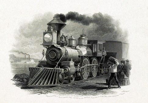 Kereta Uap, Kereta Api, Transportasi