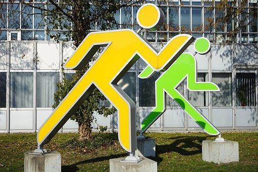 Males, Jog, Run, Figures, Sprint