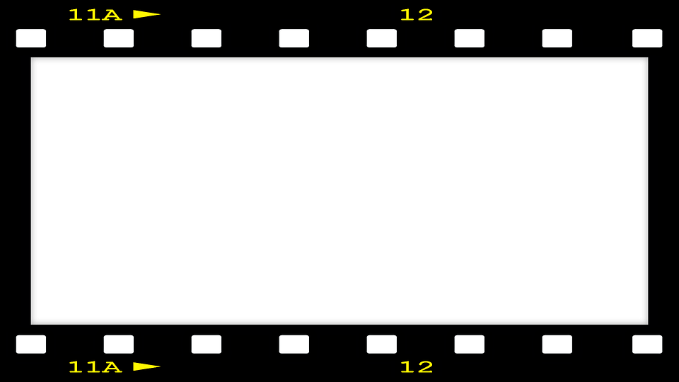 picture frame film black border