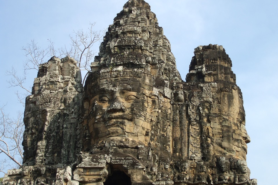 Free photo angkor wat temple cambodia free image on for Wat architecture