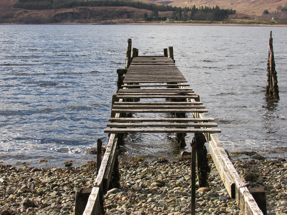 Free photo old jetty old pier wooden pier free image for Jetty fishing oregon