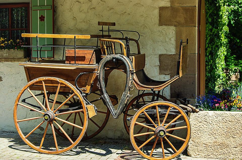 Horse Drawn Carriage Wood 183 Free Photo On Pixabay