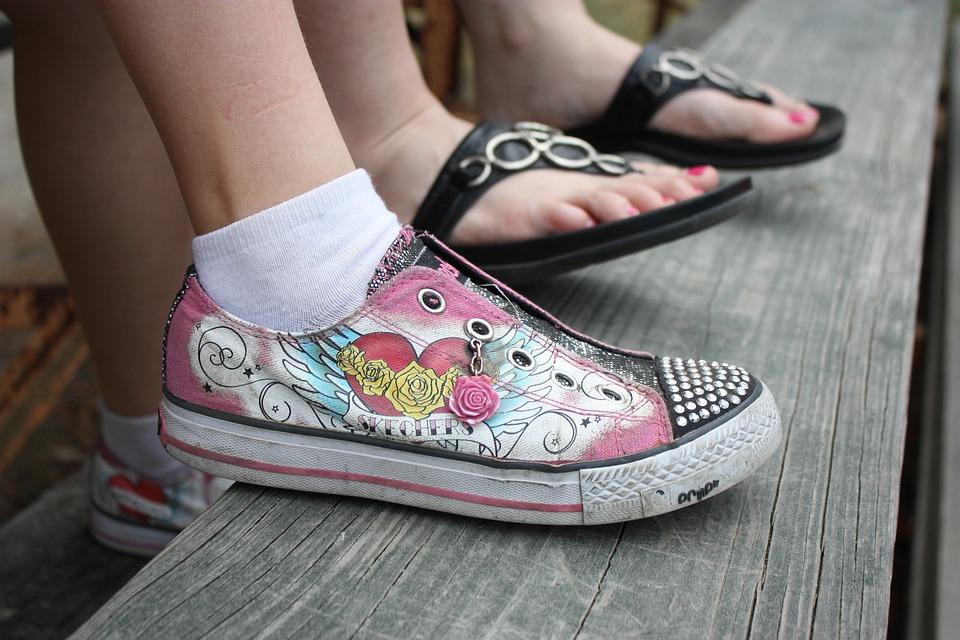 reputable site 6fab1 e0b56 Füße Mädchen Schuhe - Kostenloses Foto auf Pixabay