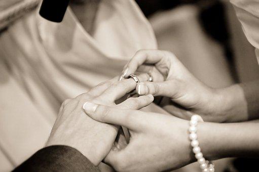 Ślub, Obrączka, Wesele