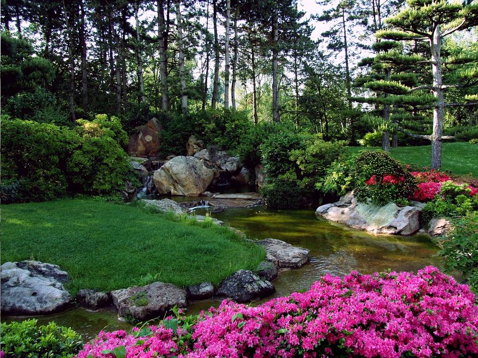 Free Photo Landscape Japanese Garden Free Image On