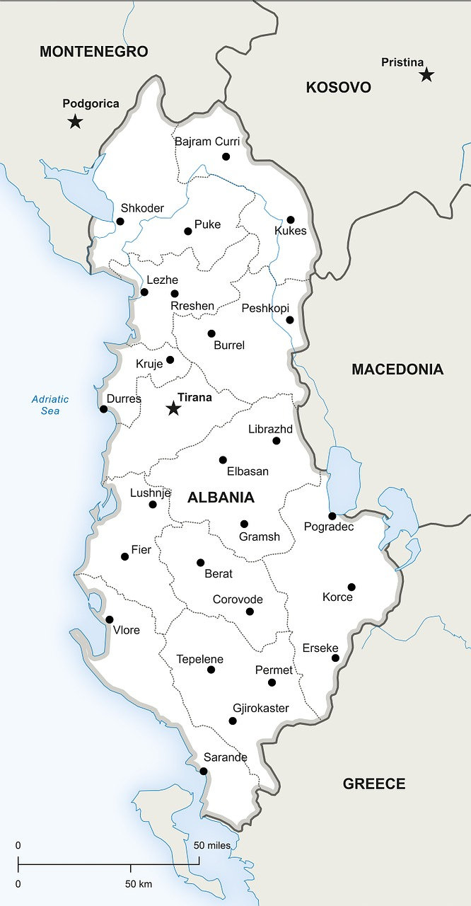 Politiska Karta Albanien Gratis Bilder Pa Pixabay