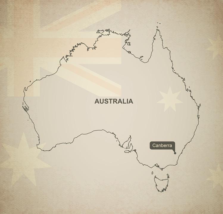 Australien Karta Lander.Disposition Karta Australien Gratis Bilder Pa Pixabay