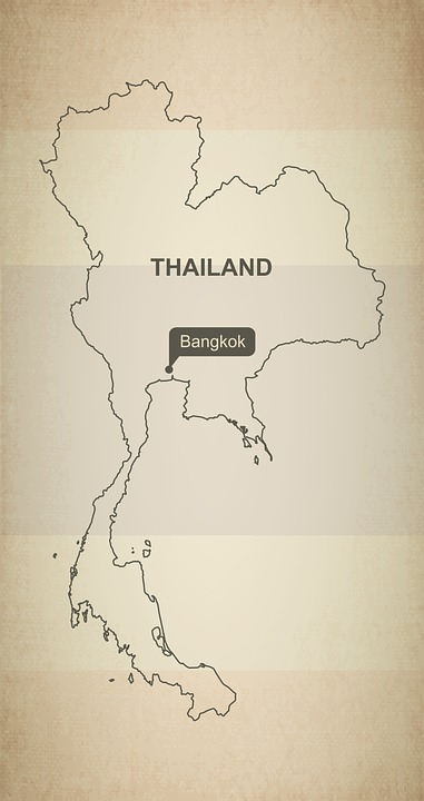 Outline map thailand free image on pixabay outline map thailand geography country maps asia gumiabroncs Image collections