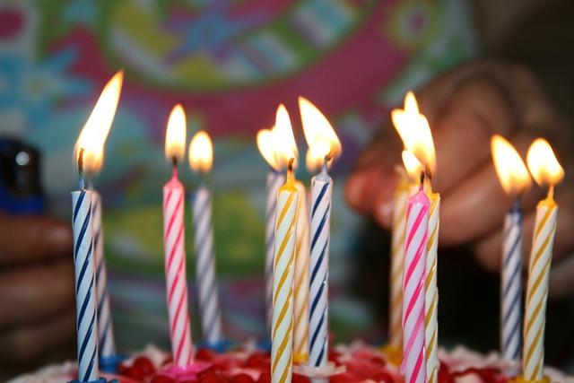 Candle Birthday 183 Free Photo On Pixabay