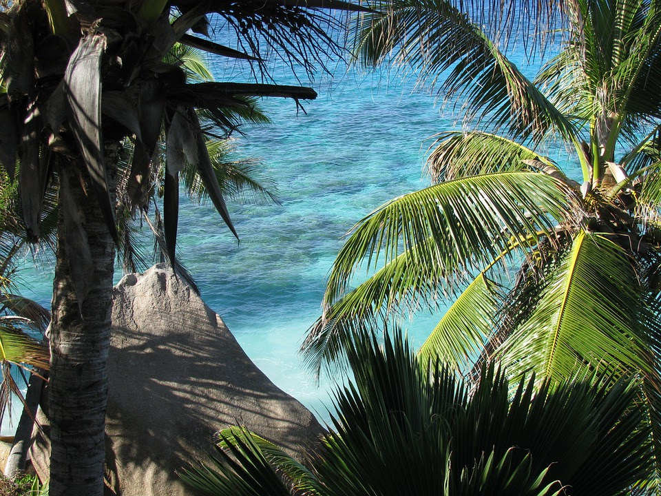 Seychelles, La Digue, Sea, Island, Indian Ocean