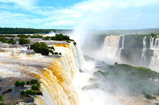 Destinos turísticos de sudamérica, Cataratas de Iguazú, Argentina, Brasil