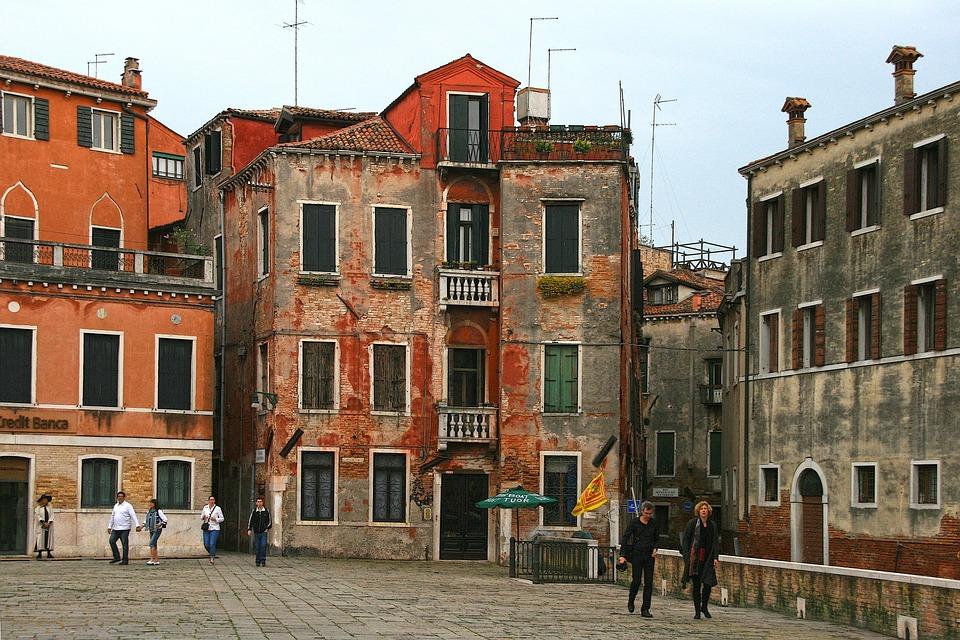 Huizen In Italie : Venetië italië oude huizen gratis foto op pixabay