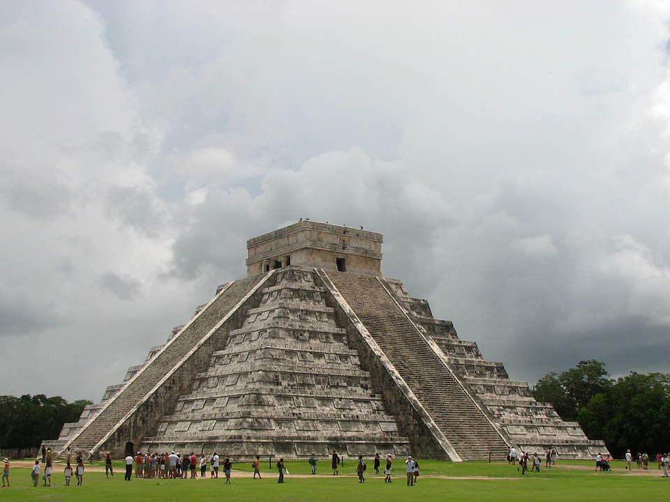 Chichen Itza, Pyramid, Mexico, Aztecs, Mayas, Incas