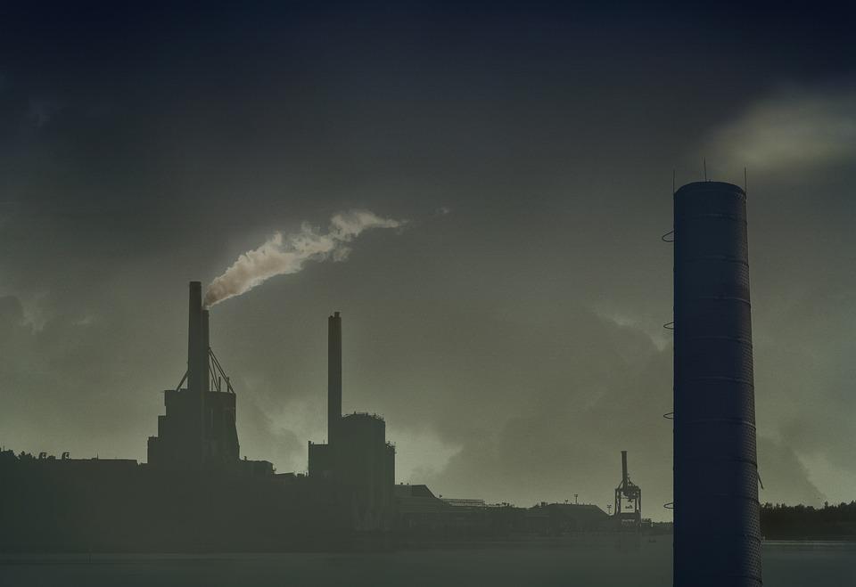 煙突, 汚染, 大気汚染, 環境, 電源, 生態, 目標到達プロセス, カウル, 工場, 生態学