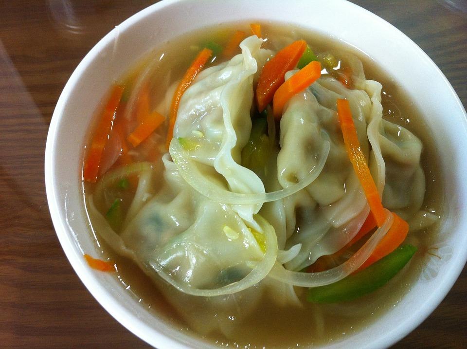 Sup Pangsit, Pangsit Goreng, Dumplings