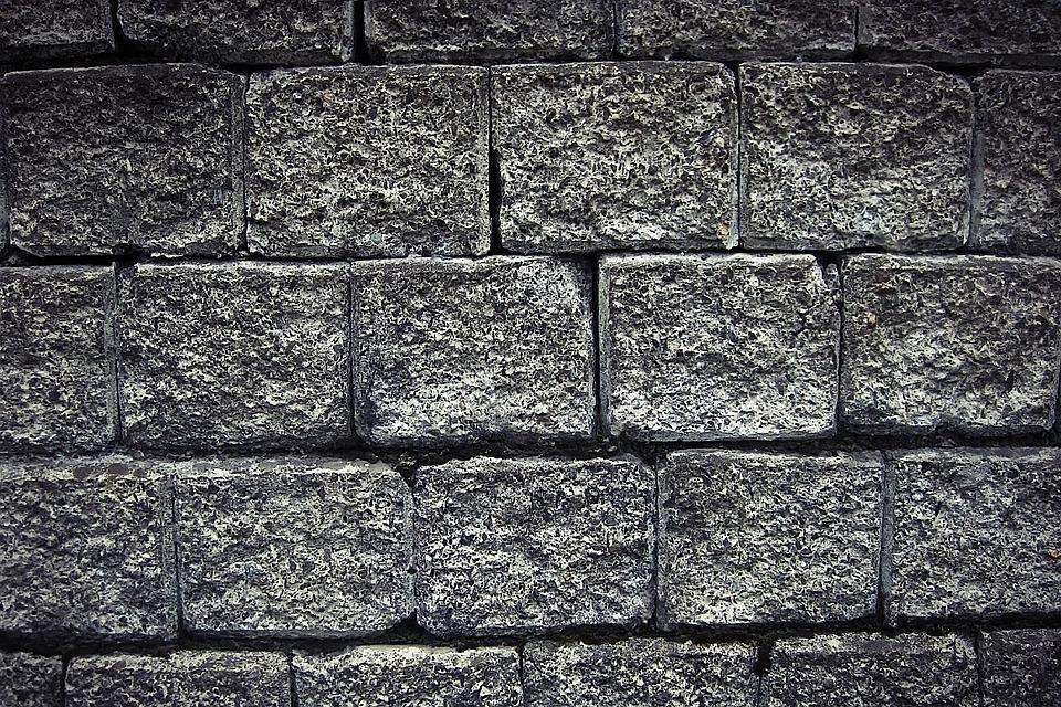 Free Photo Wall Bricks Stone Barrier White Free
