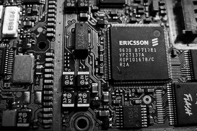 free photo circuit electronics cpu old free image on