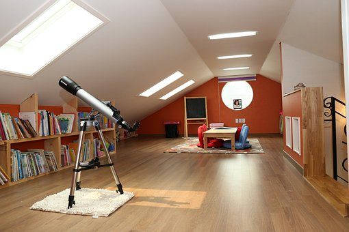 Homes For Sale, Attic, Scuttle, Attic