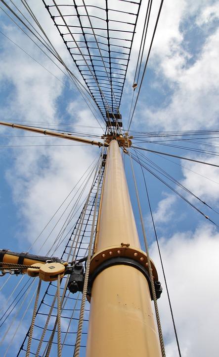 mast til sejlbåd