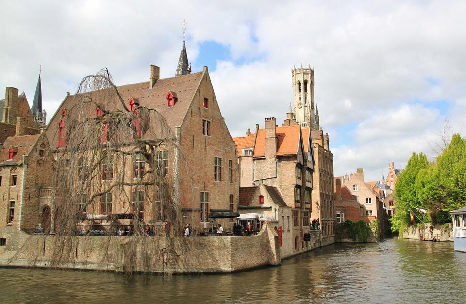 Brugge, De La Ciudad, Centro Historico, Bélgica