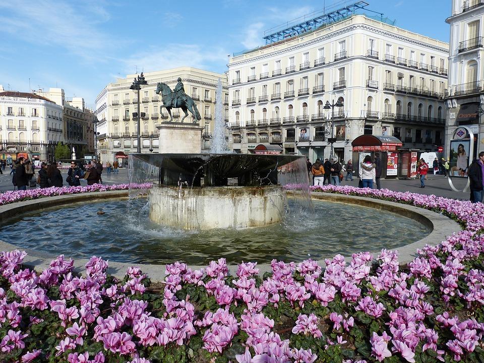 Madrid, La Construcción De, España, Capital