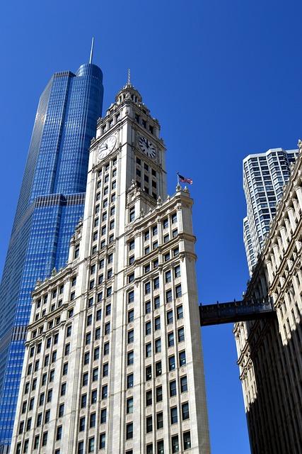 free photo  chicago  skyscraper  city - free image on pixabay