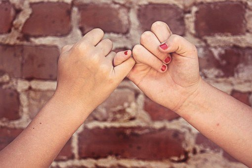Pinky Swear Friends Pinky Promise Friendsh