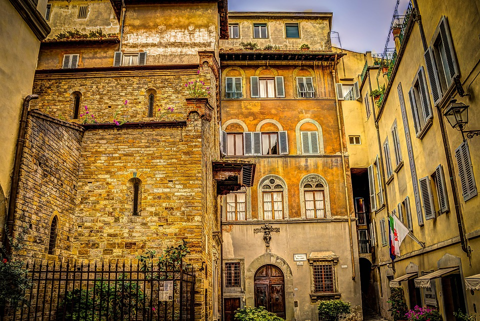 Florence italy architecture free photo on pixabay for Maison italienne architecture
