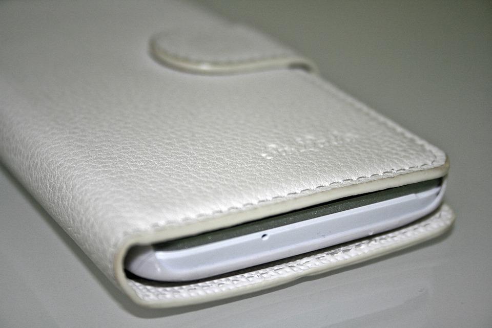 Handytasche, Purse, Case, White, Mobile Phone